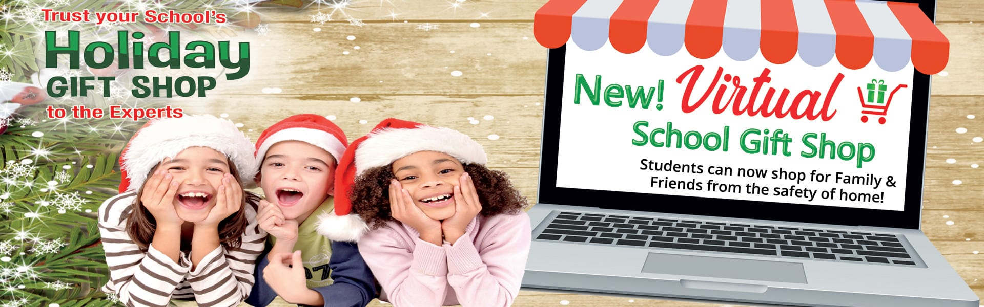 Virtual Holiday Gift Shop for children to buy presents
