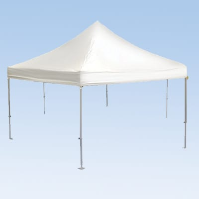 white tent party rental