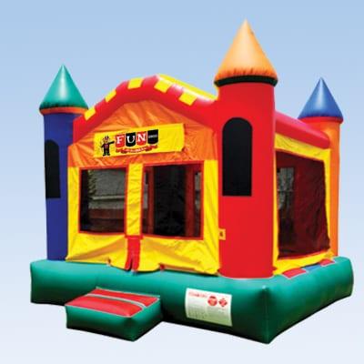 bounce castle modular
