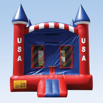 usa modular bounce house for kids