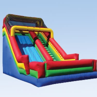 screamer inflatable slide