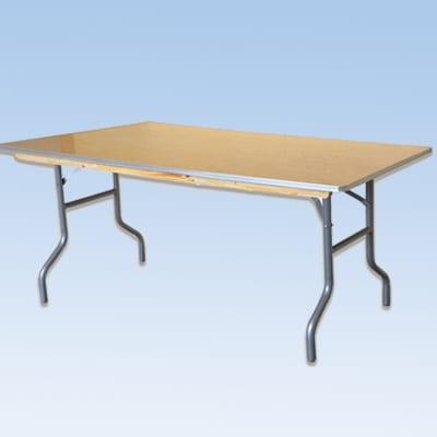 rectangular table party rental