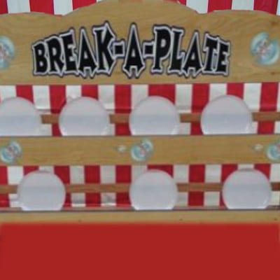 break a plate tabletop game