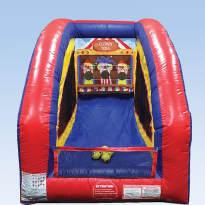 Clown Toss Inflatable Game