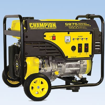generator rental for parties and events