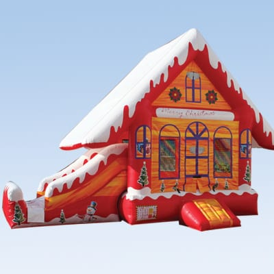 gingerbread combo inflatables