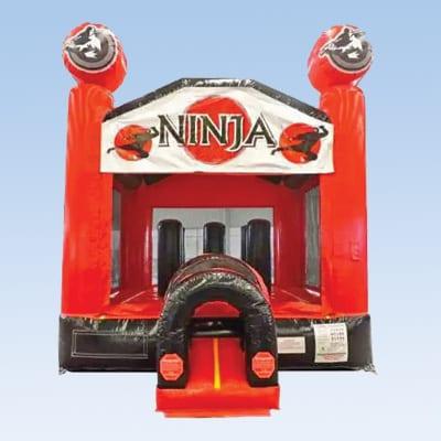 ninja bounce house