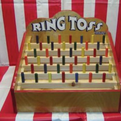 ring toss tabletop game