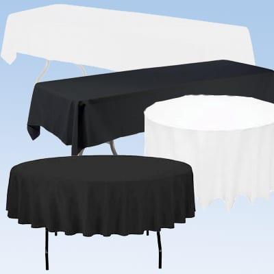 table cloth party rentals