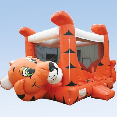 tiger moonwalk Bounce House