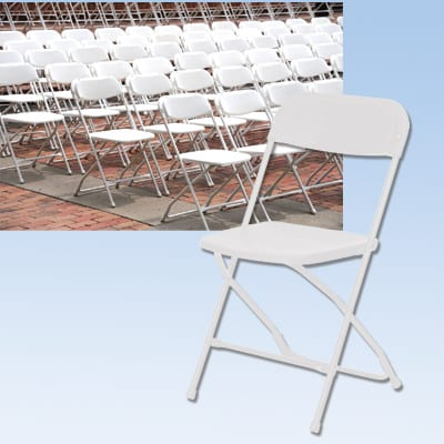 white chair event rentals