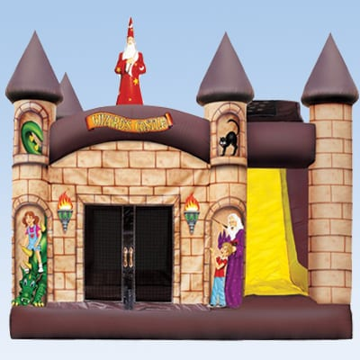 Wizard Castle combo inflatable